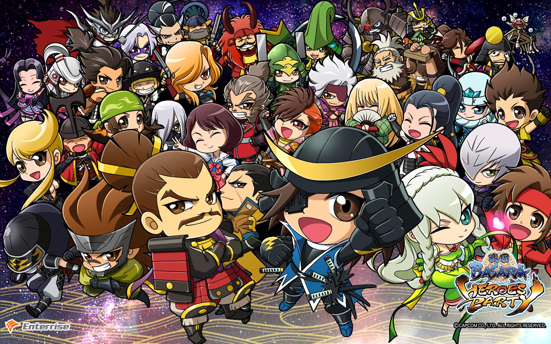 戦国basara Heroes Party エンターライズ